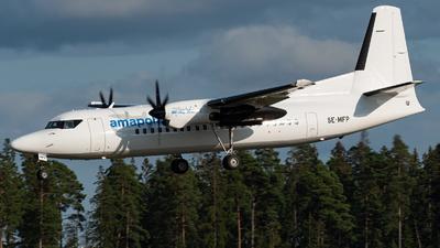 SE-MFP - Fokker 50 - Amapola Flyg