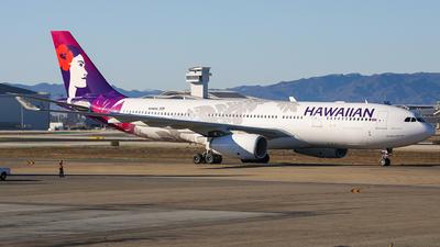 N386HA - Airbus A330-243 - Hawaiian Airlines