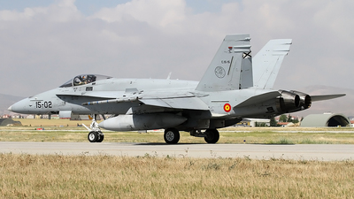 C.15-15 - McDonnell Douglas EF-18M Hornet - Spain - Air Force