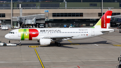 A picture of CSTNK - Airbus A320214 - TAP Air Portugal - © TJDarmstadt