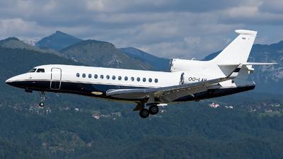 OO-LAH - Dassault Falcon 7X - Abelag Aviation