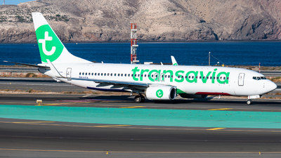 PH-HXA - Boeing 737-8K2 - Transavia Airlines