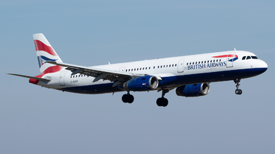 A picture of GEUXF - Airbus A321231 - British Airways - © bencekohutovics