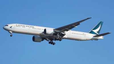 B-KPX - Boeing 777-367ER - Cathay Pacific Airways