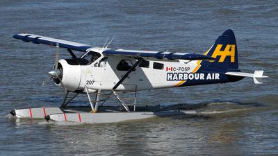 A picture of CFOSP - De Havilland Canada DHC2 Beaver - [1501] - © Daniel Lapierre Forget