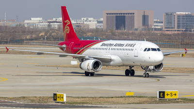 A picture of B6780 - Airbus A320232 - Shenzhen Airlines - © Eric Wang