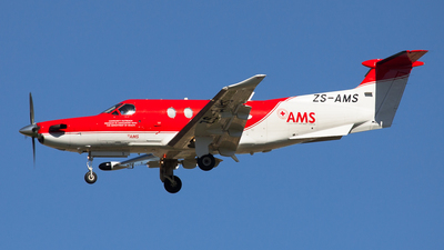 ZS-AMS - Pilatus PC-12 - Air Mercy Services