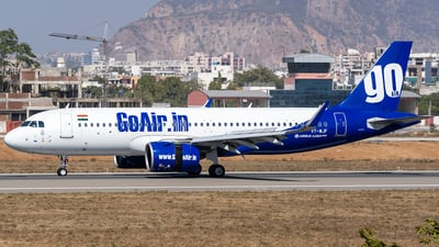 A picture of VTWJF - Airbus A320271N - Go First - © Rohan Paliwal