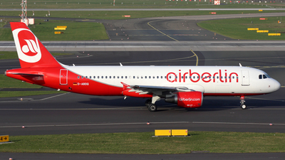 D-ABDQ - Airbus A320-214 - Air Berlin