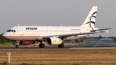 SX-DVT - Airbus A320-232 - Aegean Airlines