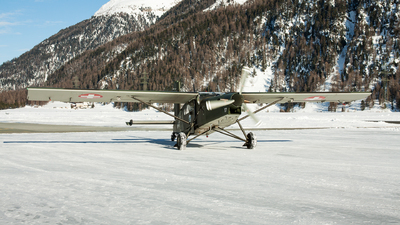 V-617 - Pilatus PC-6/B2-H2 Turbo Porter - Switzerland - Air Force