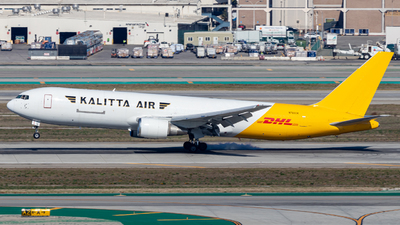 A picture of N765CK - Boeing 7673P6(ER)(BDSF) - DHL - © Issac