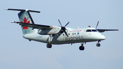 C-GONX - Bombardier Dash 8-102 - Air Canada Express (Jazz Aviation)