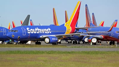 A picture of N491WN - Boeing 7377H4 - Southwest Airlines - © Joe G. Walker