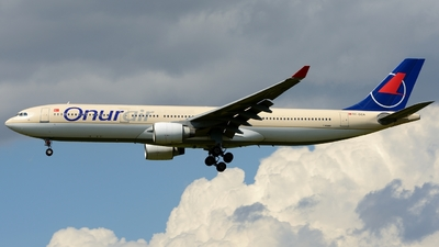 TC-OCA - Airbus A330-321 - Onur Air
