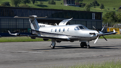 A picture of HBFOW - Pilatus PC12/45 - [411] - © Alex