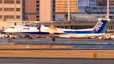 A picture of JA853A - De Havilland Canada Dash 8400 - All Nippon Airways - © JG_Kojiro
