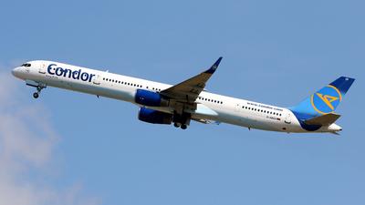 A picture of DABOI - Boeing 757330 - Condor - © Javier Rodriguez - Amics de Son Sant Joan