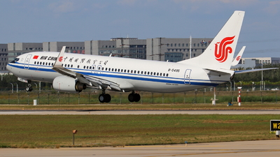 B-5495 - Boeing 737-89L - Air China