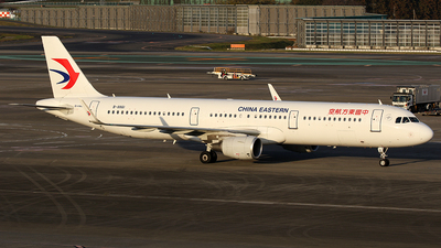 B-8861 - Airbus A321-211 - China Eastern Airlines