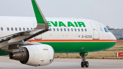B-16208 - Airbus A321-211 - Eva Air