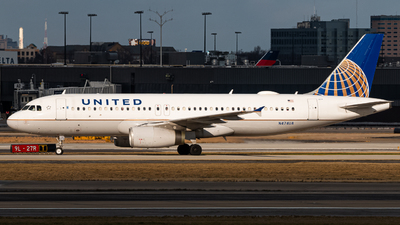 A picture of N474UA - Airbus A320232 - United Airlines - © Brent Mooney