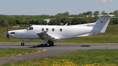 A picture of HBFSA - Pilatus PC12/47E - Pilatus Flugzeugwerke - © Ian Howat