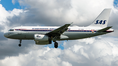 A picture of OYKBO - Airbus A319132 - SAS - © Alessandro Chinaglia