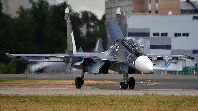 RF-33787 - Sukhoi Su-30SM - Russia - Navy