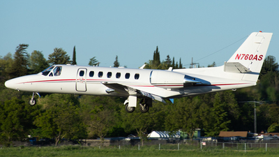 N760AS - Cessna 560 Citation Encore - Private