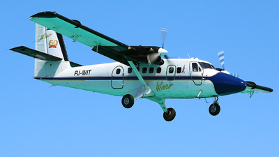 PJ-WIT - De Havilland Canada DHC-6-300 Twin Otter - Winair - Windward Islands Airways