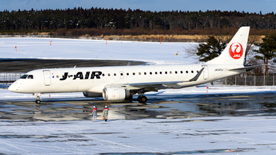 JA243J - Embraer 190-100STD - J-Air