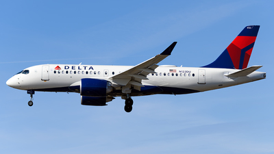 N122DU - Airbus A220-171 - Delta Air Lines