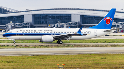 B-205L - Boeing 737-8 MAX - China Southern Airlines