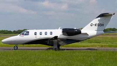 G-KSOH - Cessna 525 CitationJet M2 - Air Charter Scotland
