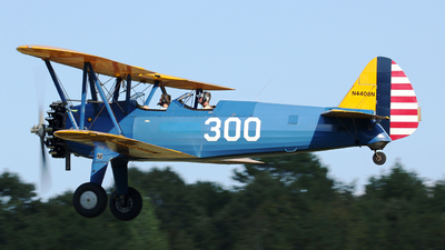 N4408N - Boeing B75N1 Stearman - Private