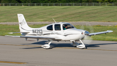 N431CD - Cirrus SR22-GTS - Private