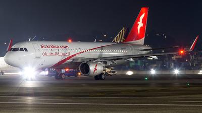 A picture of A6AOT - Airbus A320214 - Air Arabia - © Janam Parikh