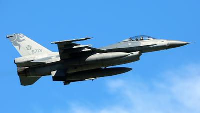 6713 - Lockheed Martin F-16AM Fighting Falcon - Taiwan - Air Force