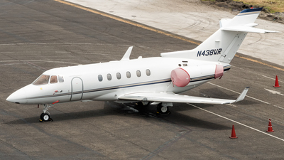 N438WR - Raytheon Hawker 850XP - Private