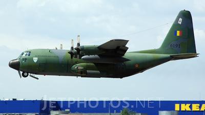 6191 - Lockheed C-130H Hercules - Romania - Air Force