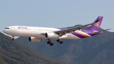 HS-TEO - Airbus A330-343 - Thai Airways International