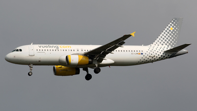 EC-LRM - Airbus A320-232 - Vueling Airlines