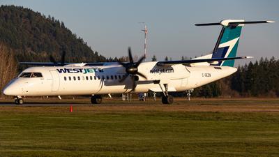 A picture of CGEEN - De Havilland Canada Dash 8400 - WestJet - © Keeper1