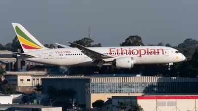 A picture of ETASI - Boeing 7878 Dreamliner - Ethiopian Airlines - © danilosantos