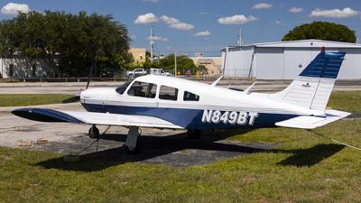 N849BT - Piper PA-28R-200 Arrow II - Private