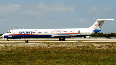 N812NK - McDonnell Douglas MD-82 - Spirit Airlines