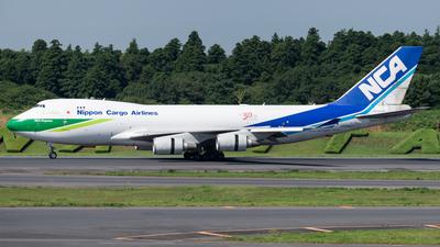 JA04KZ - Boeing 747-481F(SCD) - Nippon Cargo Airlines (NCA)