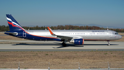 VP-BEG - Airbus A321-211 - Aeroflot