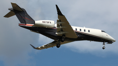 A picture of N572FX - Bombardier Challenger 350 - Flexjet - © Willy Dahmen